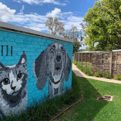 Mural left side