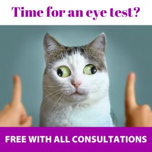 Thornleigh Vet Eye Tests